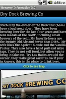 Screenshot of Colorado Beer Tour