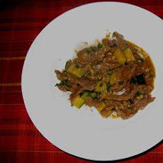 Deb's Spicy Beef Curry