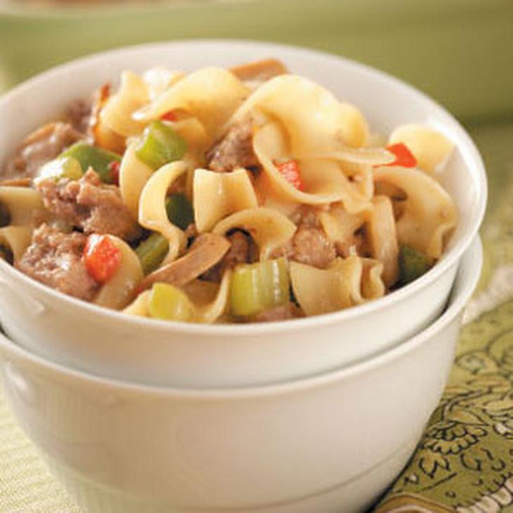 Turkey Noodle Casserole Recipe | Yummly
