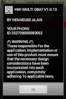 Screenshot of HMI OBA7
