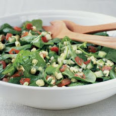 Spinach, Tomato and Corn Salad