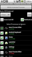 Screenshot of Auto Process Killer Free -2.0+