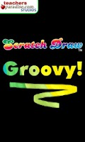 Screenshot of Scratch Draw Groovy! Art Game