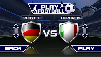 Screenshot of Play Football Real Soccer FREE