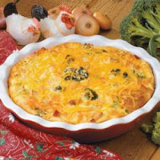 Cheddar Chicken Pie
