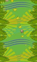 Screenshot of Hungry Monkey - Tilt & Jump