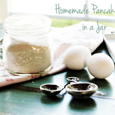 Homemade Pancake Mix in a Jar