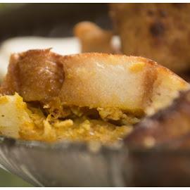 filled bread by Sreekumar Paikkat - Food & Drink Cooking & Baking ( bread, ramssan snacks, snacks, fried bread, filled snacks,  )