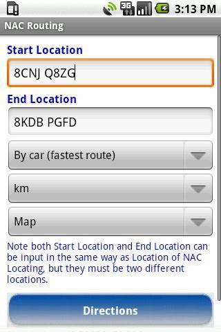 NACMaps for Google Maps