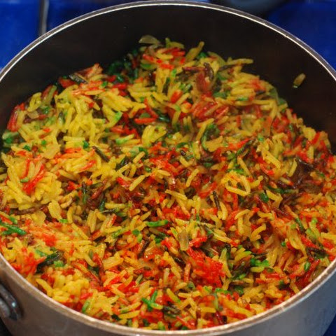 Pilau - Kenyan Fried Rice