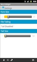 Screenshot of Word Widget Free