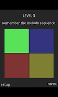 Screenshot of Melody Squares