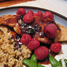 Raspberry Chicken Adobo