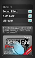 Screenshot of Flashlight Easy