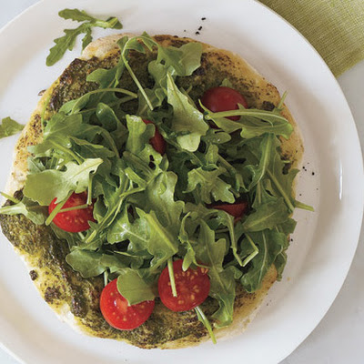 Arugula Salad with Lemon-Parmesan Dressing