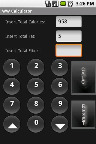 WW Calculator