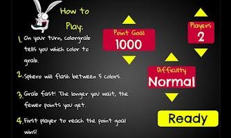 Screenshot of Sphero ColorGrab