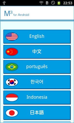 多言語問診システムM3(M-Cube)