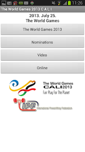 World Games 2013 IPF - screenshot