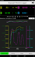 Screenshot of Keysight Mobile Logger