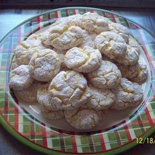 Lemon Snowflake Cookies Recipes