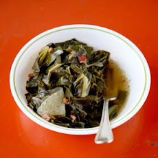 Wine-Simmered Collard Greens