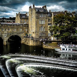 Beauty of Bath, UK. by Justine Tsubaki - City,  Street & Park  City Parks