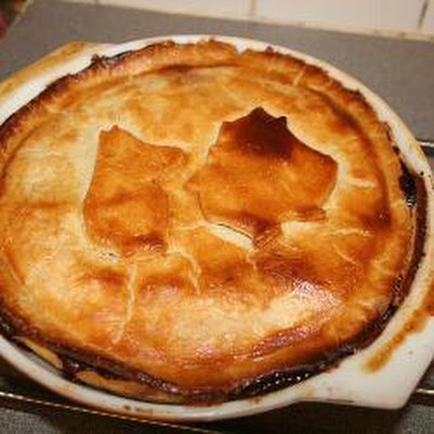 Steak and Ale Pie with Mushrooms