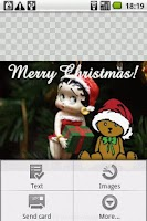 Screenshot of Holiday Cards