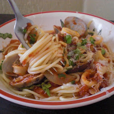 Spaghettini with Clams and
