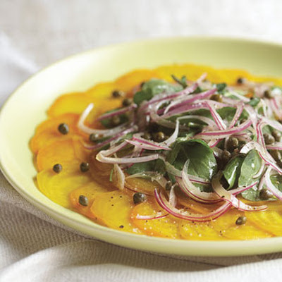 Golden Beet Carpaccio