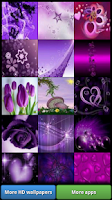Screenshot of Lovely Purple HD Wallpapers