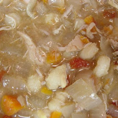 Chicken Posole (Slow Cooker)