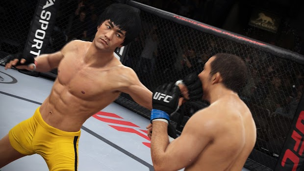 Bruce Lee will appear in EA Sports UFC