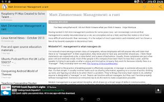 Screenshot of Unix & Linux News