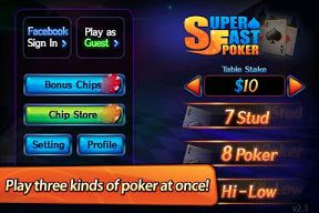 Screenshot of Super Fast Poker