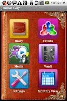 Screenshot of Diary Journal Pro Daily Planer