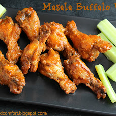 Masala Buffalo Wings