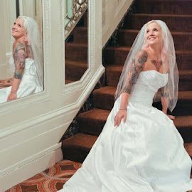 happy by Tanja Nixx - Wedding Bride ( ashely russell weddingdress )