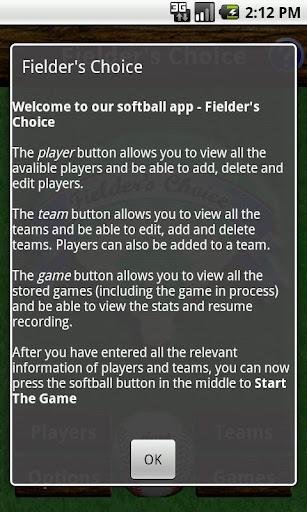 【免費運動App】Fielder's Choice-APP點子