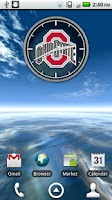 Screenshot of Ohio State Buckeyes Clock