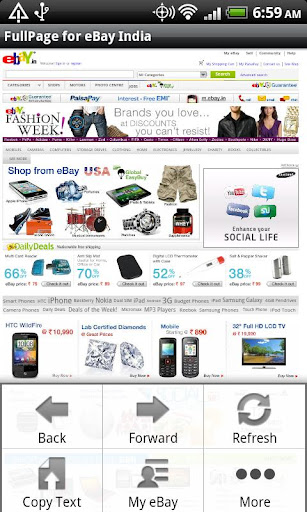 FullPage for ebay India