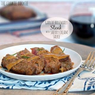 Garlic Herb Cream Sauce Steak Recipes