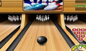 Screenshot of 3D Bowling Free