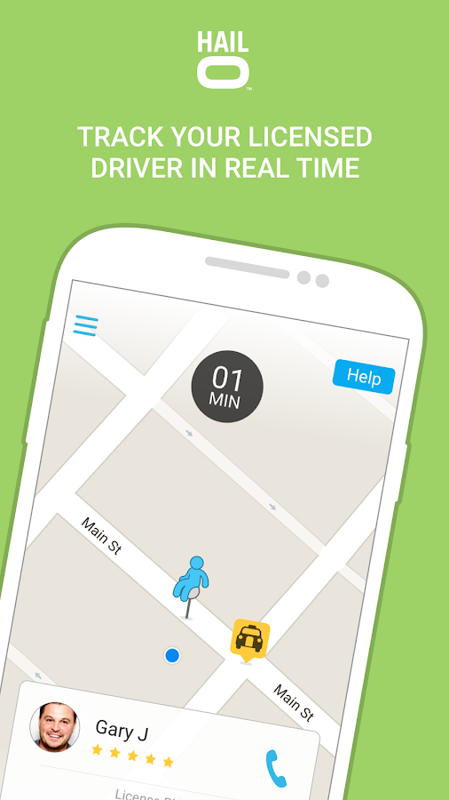 Hailo - The Taxi Booking App Screenshot 2