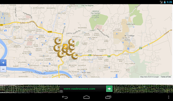 Screenshot of Bangladesh Prayer Time App