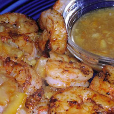 Grilled Shrimp With Sweet-And-Sour Sauce