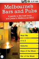 Screenshot of Melbourne Bars and Pubs 2012