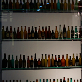 Wall Of Bottles by Tina Hailey - Food & Drink Alcohol & Drinks ( tinas capture moments, bottles,  )
