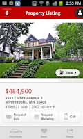 Screenshot of EdinaRealty.com Home Search